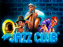 Автомат The Jazz Club платном казино